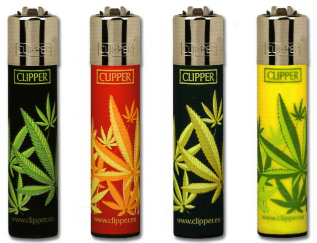 Clipper hojas cannabis